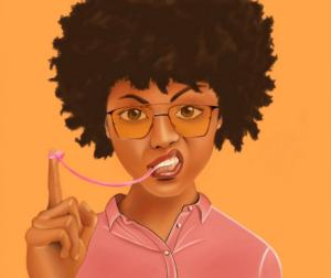 Screenshot_2021-05-12 Bubble gum girl - Pepé art